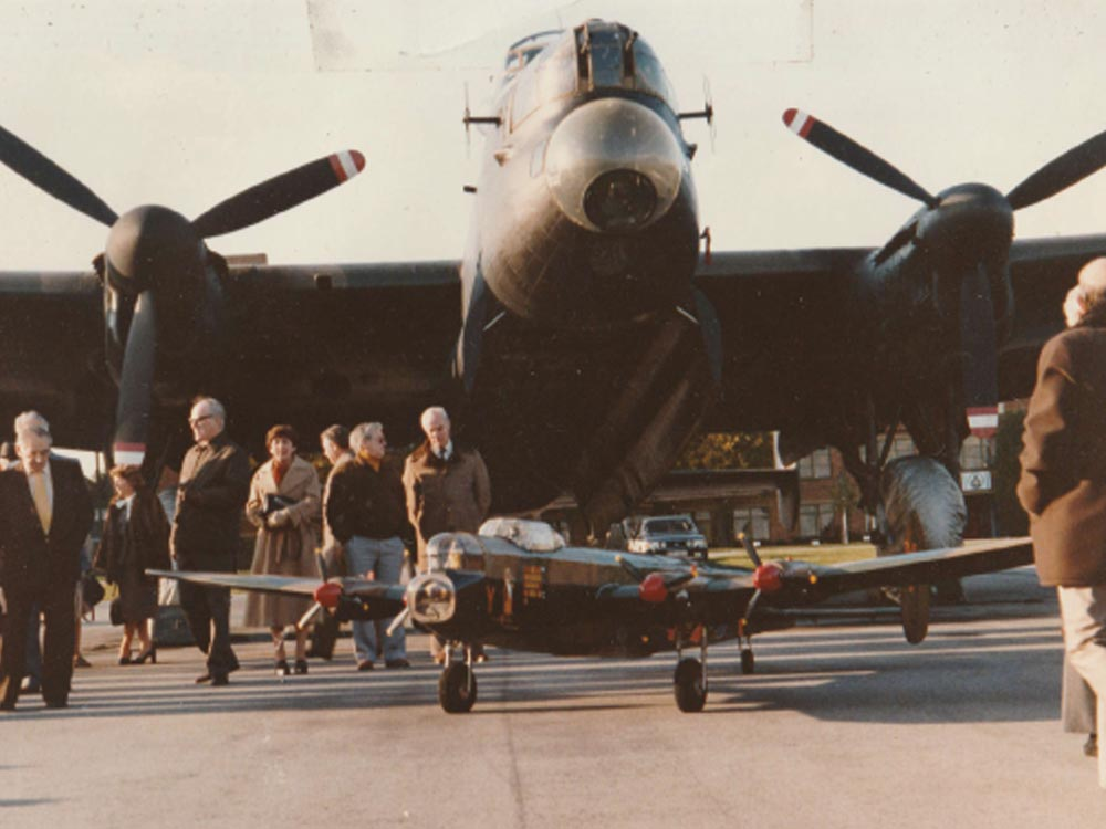 TMFC Lancaster and real one